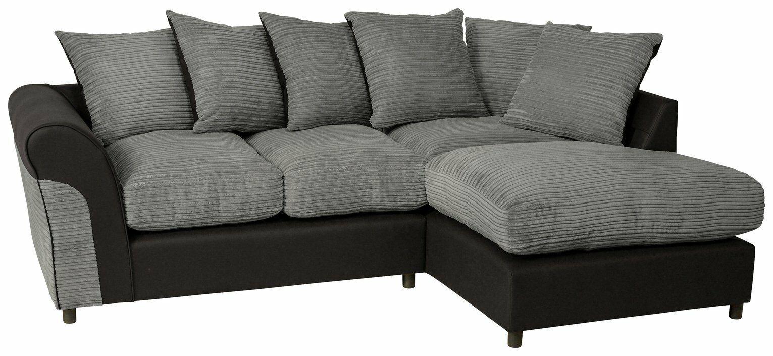 Argos Corner Sofa in 2020 | Corner couch, Corner sofa ...