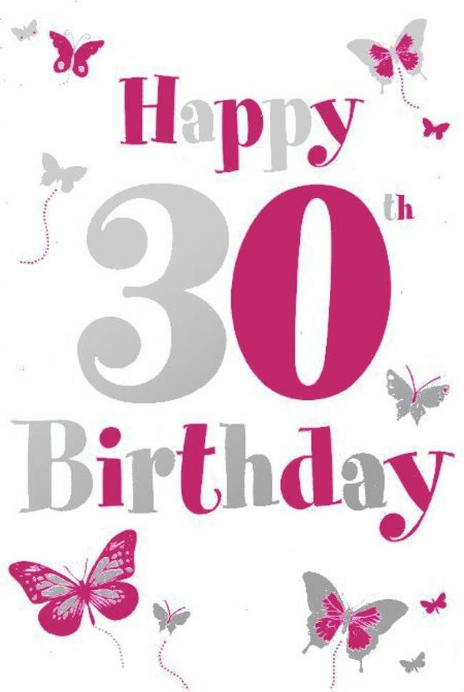 Happy 30th Birthday Cardsbest Images Galery Best Images Galery