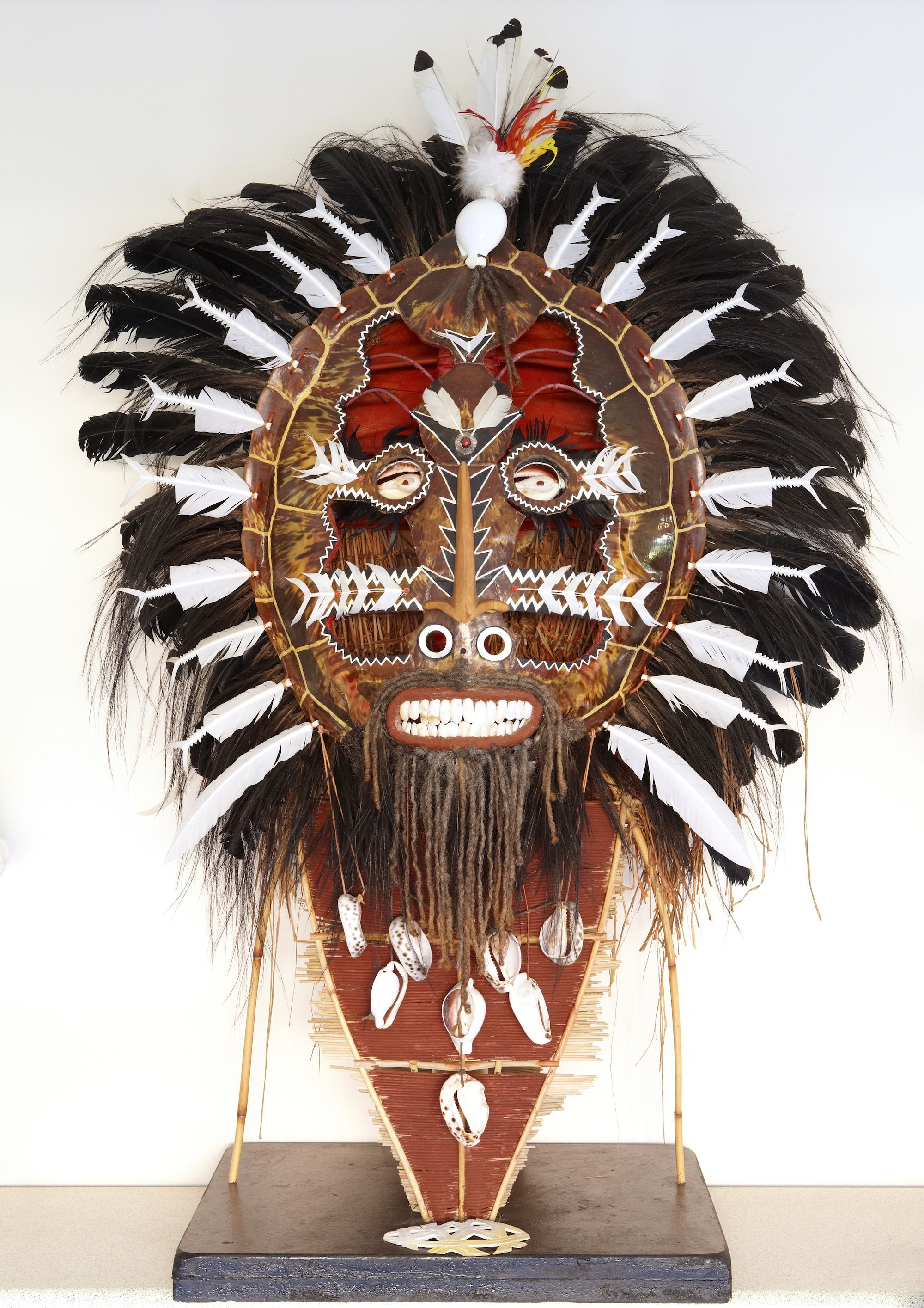 Seashell And Feather Mask Kids Art Projects Masks Crafts Ceramic Mask