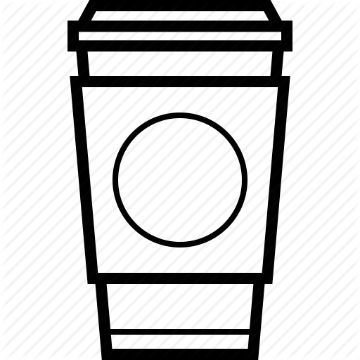 Buy This Icon For 2 00 On Iconfinder Com Style Outline Categories Food Drinks Starbucks Coffee Cup Coffee Cups Coffee Cup Drawing