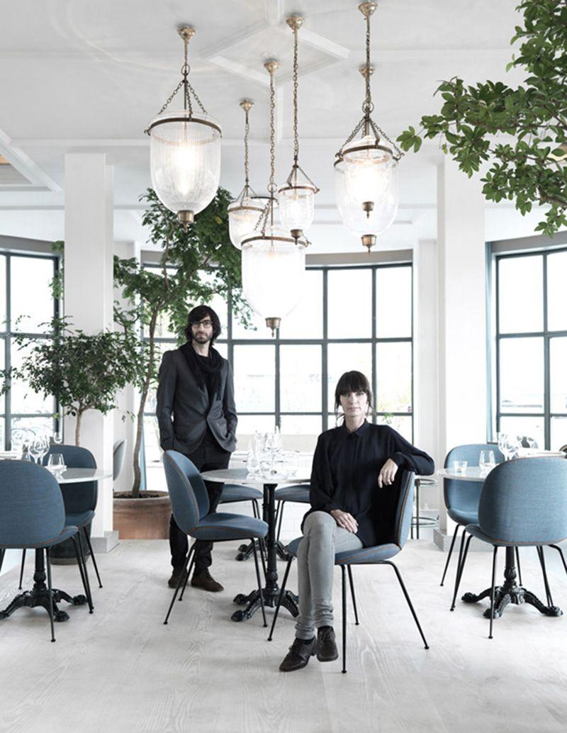 The Standard Copenhagen 카페 가구 인테리어 디자인