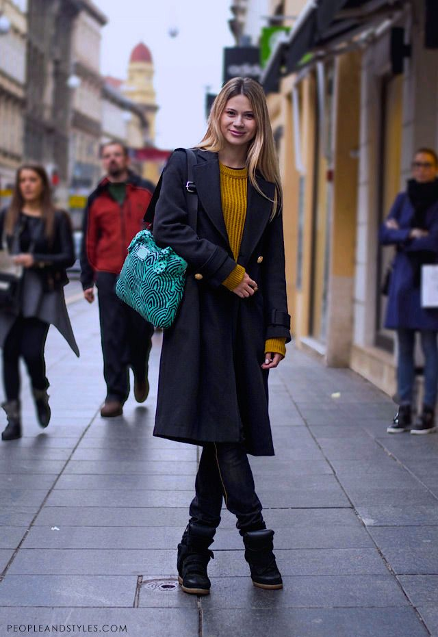 Check Out Chilly Autumn Street Style Fashion From Zagreb Korina Barisic Studentica Autumn Street Style Style Street Style Women