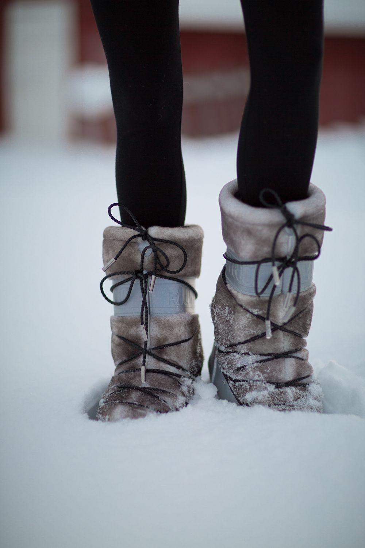 newest e2bf7 6c1c7 Husky Sledding & Sleeping on Ice, Lapland | Shoe Love ...