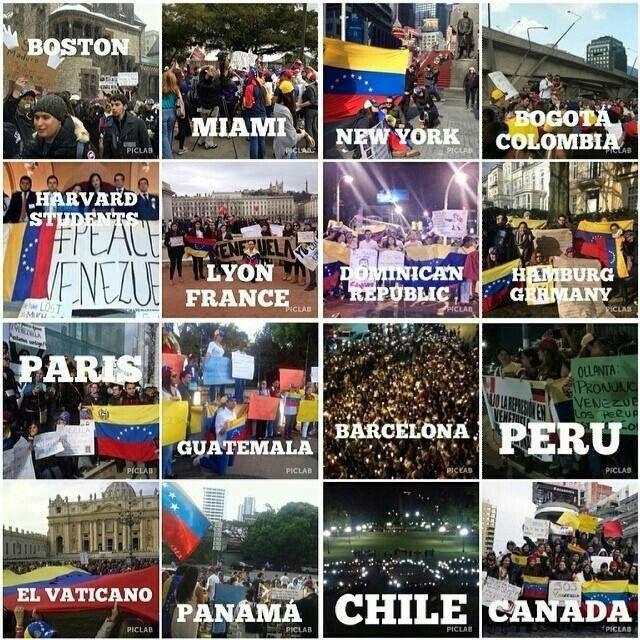 Mas sumados en apoyo a. Venezuela
