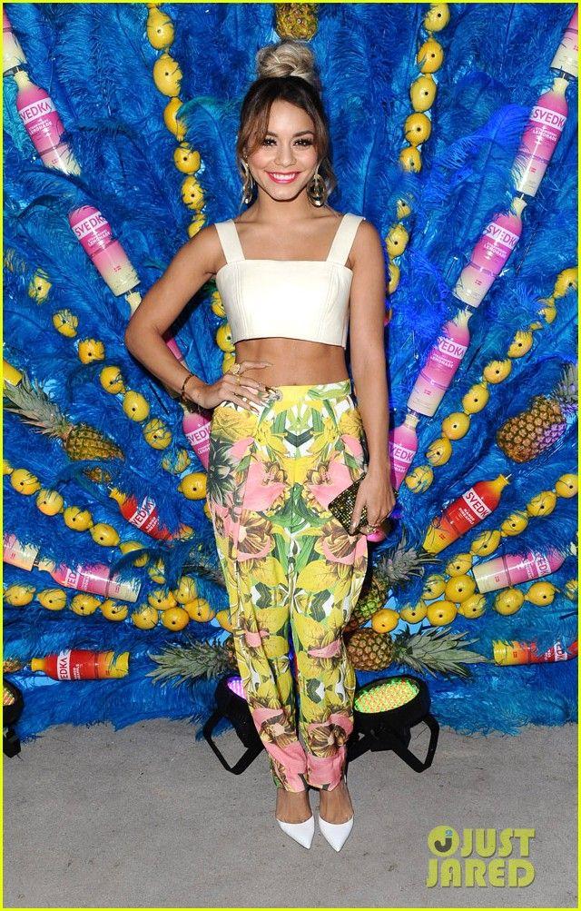 vanessa hudgens shows off her killer abs summer samba 18