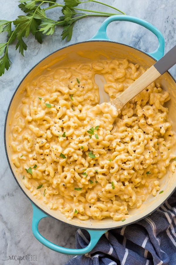 Easy Homemade Mac and Cheese - The Recipe Rebel Ea