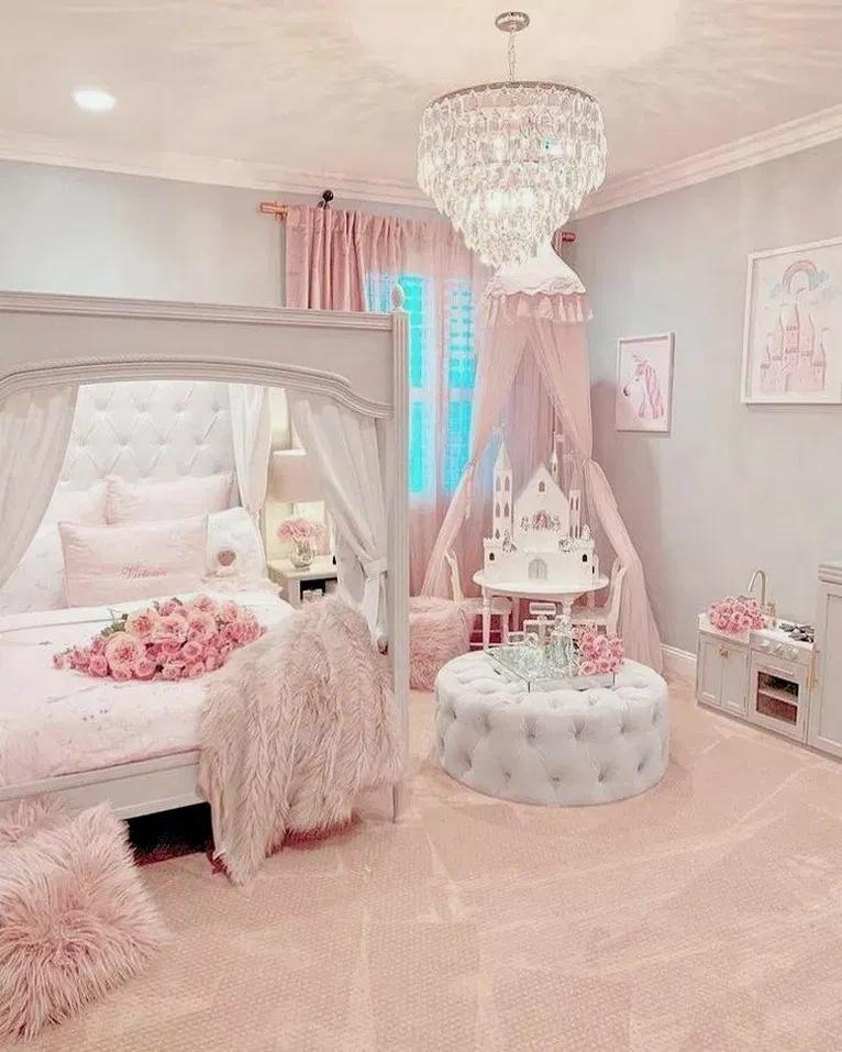 28 More Girls Bedroom Decor Ideas Bedroomdecor Bedroomdesign Bedroomideas Beautiful House Pink Bedroom For Girls Girly Bedroom Girl Bedroom Decor