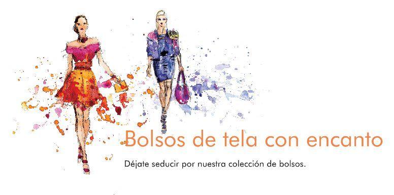 Bolsos de tela con encanto - Déjate seducir por nuestra colección de bolsos.