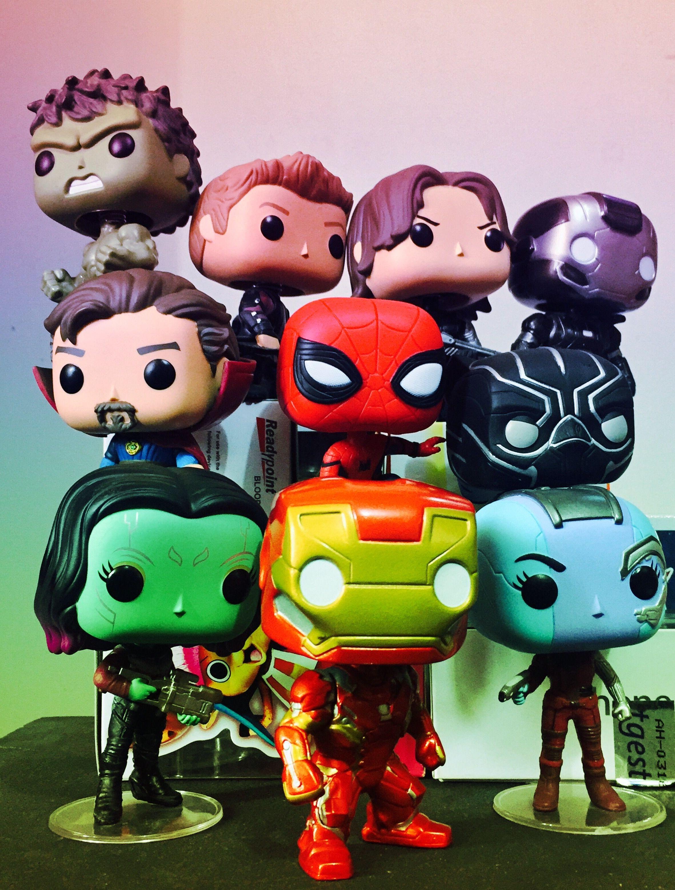 Avengers Infinity War Funko Pop Custom Funko Pop Funko Pop Marvel Funko