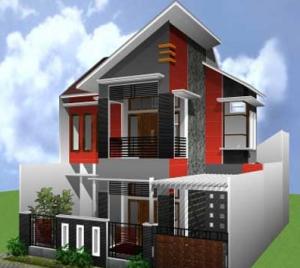 desain rumah minimalis 2 lantai type 45 | rumah minimalis