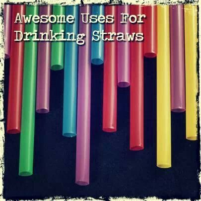 Drinking straw uses