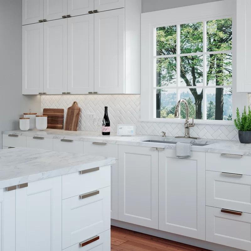 Martin 3 Center Finger Pull Multipack In 2021 Condo Kitchen Kitchen Design Small Shaker Kitchen Cabinets
