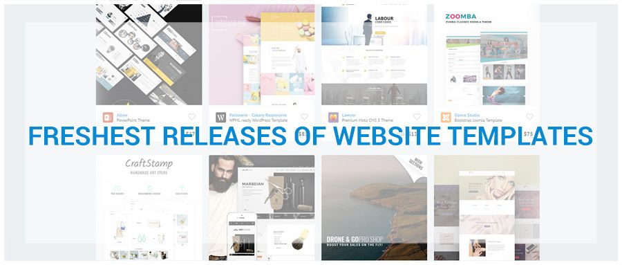26 Freshest Releases of Website Templates https://www.templates.com ...