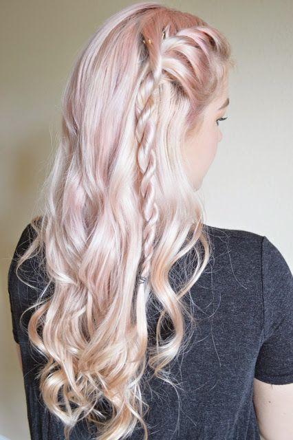 Alexsis Mae Daenerys Targaryen Rope Braids G O T Series Hair Styles Lagertha Hair Viking Hair