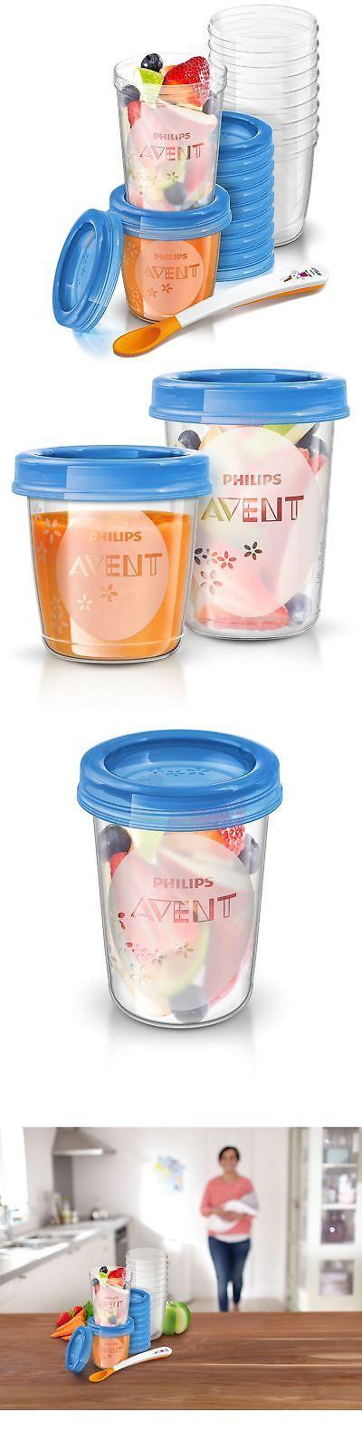 Breast Milk Storage 168751 Philips Avent Baby Food Storage Cups 180