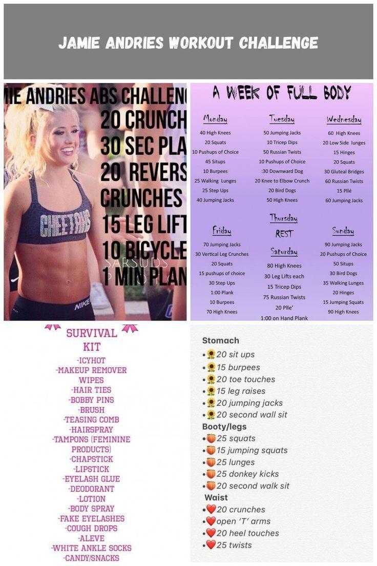 #Health  #Fitness  #Trusper  #Tip cheer Workouts Jamie Andries Workout Challenge  #cheerworkouts Jam...