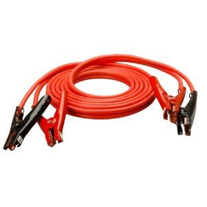 20 FT 4 Gauage Heavy Duty Booster Cables Jumping Jumper Cable Power