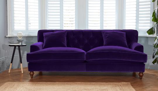Luxury Purple Sofas Ideas Darlings Of Chelsea Small Sofa Teal Sofa Love Seat