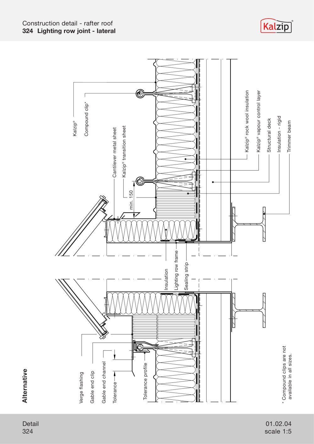 Kalzip Roofing Detail Amp Kalzip Liner Deck Roof System