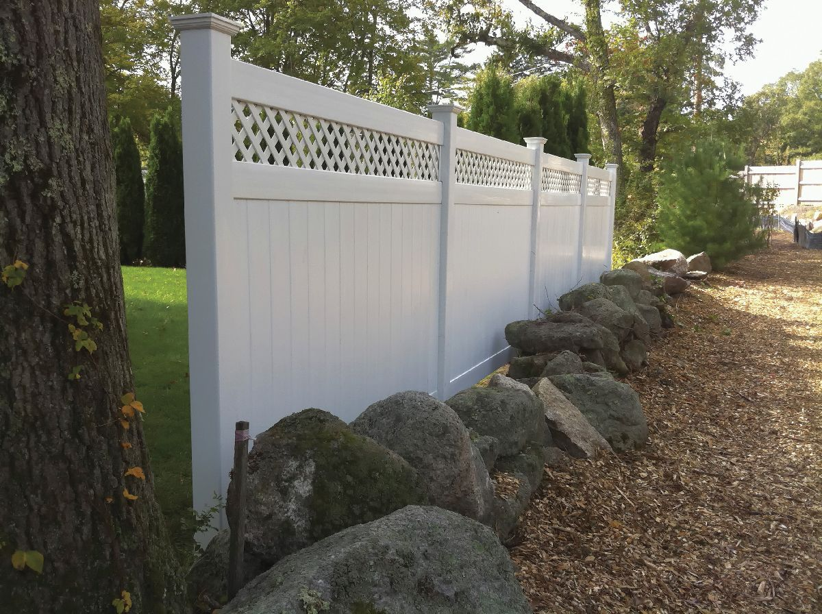 Arrow Fence Vinyl Fences Marlborough Ma