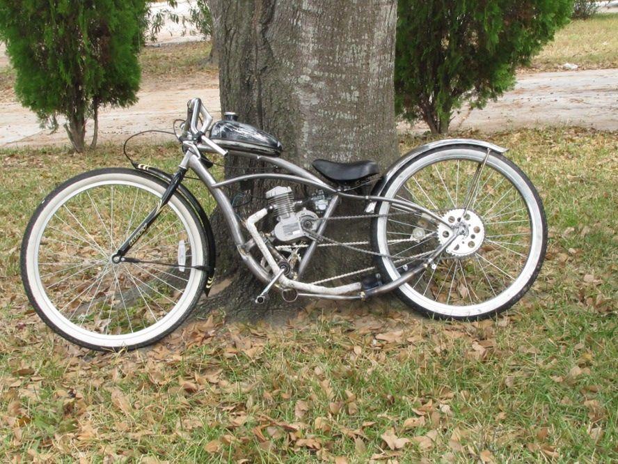 Stroke Custom Bobber Motorized Bicycle | ON MY BUILD LIST