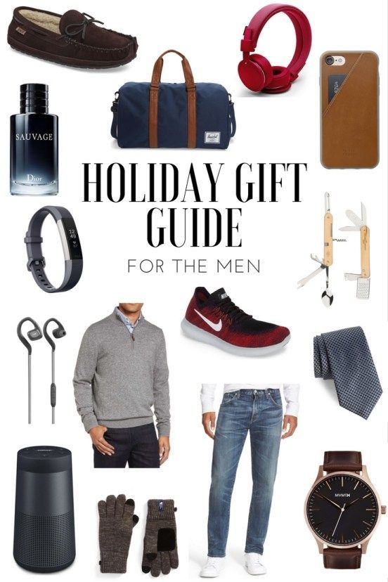 holiday gift guide for men gifts for men what to buy your boyfriend for christmas
