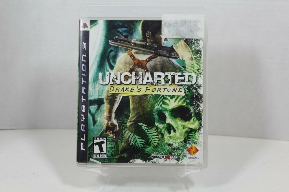 Details about uncharted drakes fortune ps3 2007 cib