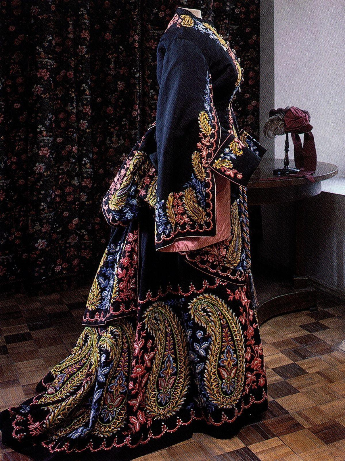 Dress, 1870's, Russian