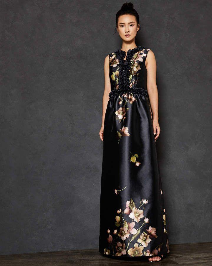 143d29a35 Ted Baker DORATA Arboretum print maxi dress