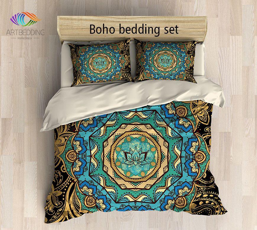 Bohemian Bedding Bohemian Queen King Full Twin Duvet Cover