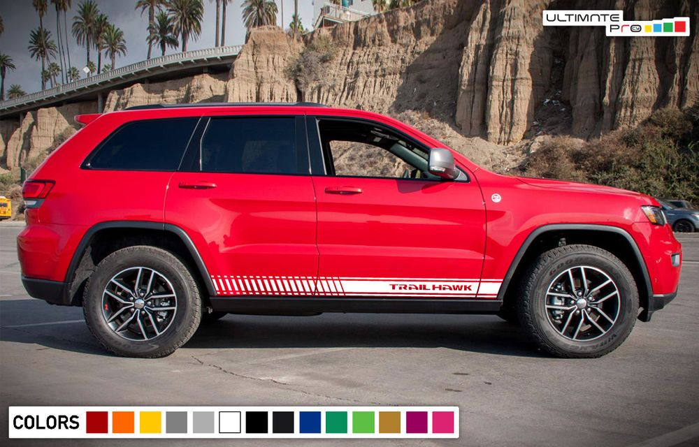 Sticker Decal Graphic Vinyl Stripe Body Kit For Jeep Grand