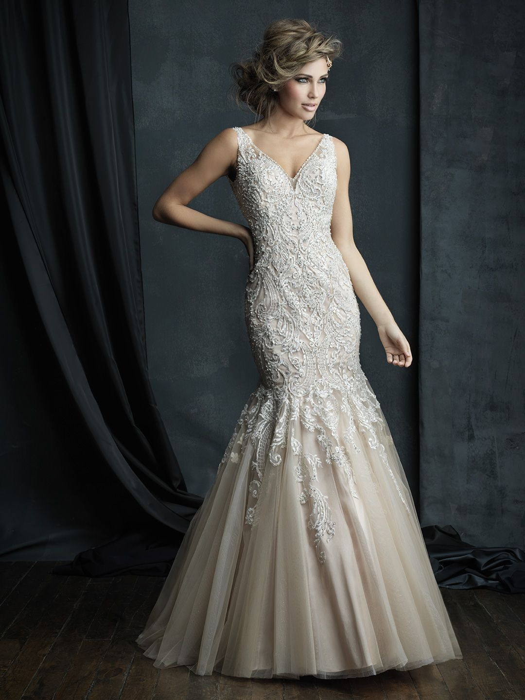 Elite wedding dresses  Channel the opulent glamour of the s in this magnificent