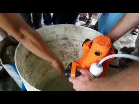 36) Tutorial: Mixing the Aircrete - YouTube | aircrete in 2019