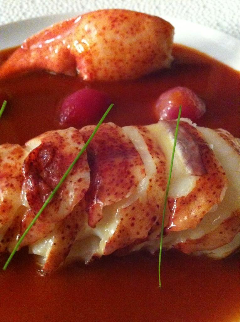 """Le Bernardin NY lobster """"goulash"""" - You will never forget your dining experience here... NYC at its finest under Eric Ripert! http://bit.ly/1qQj1Co"""