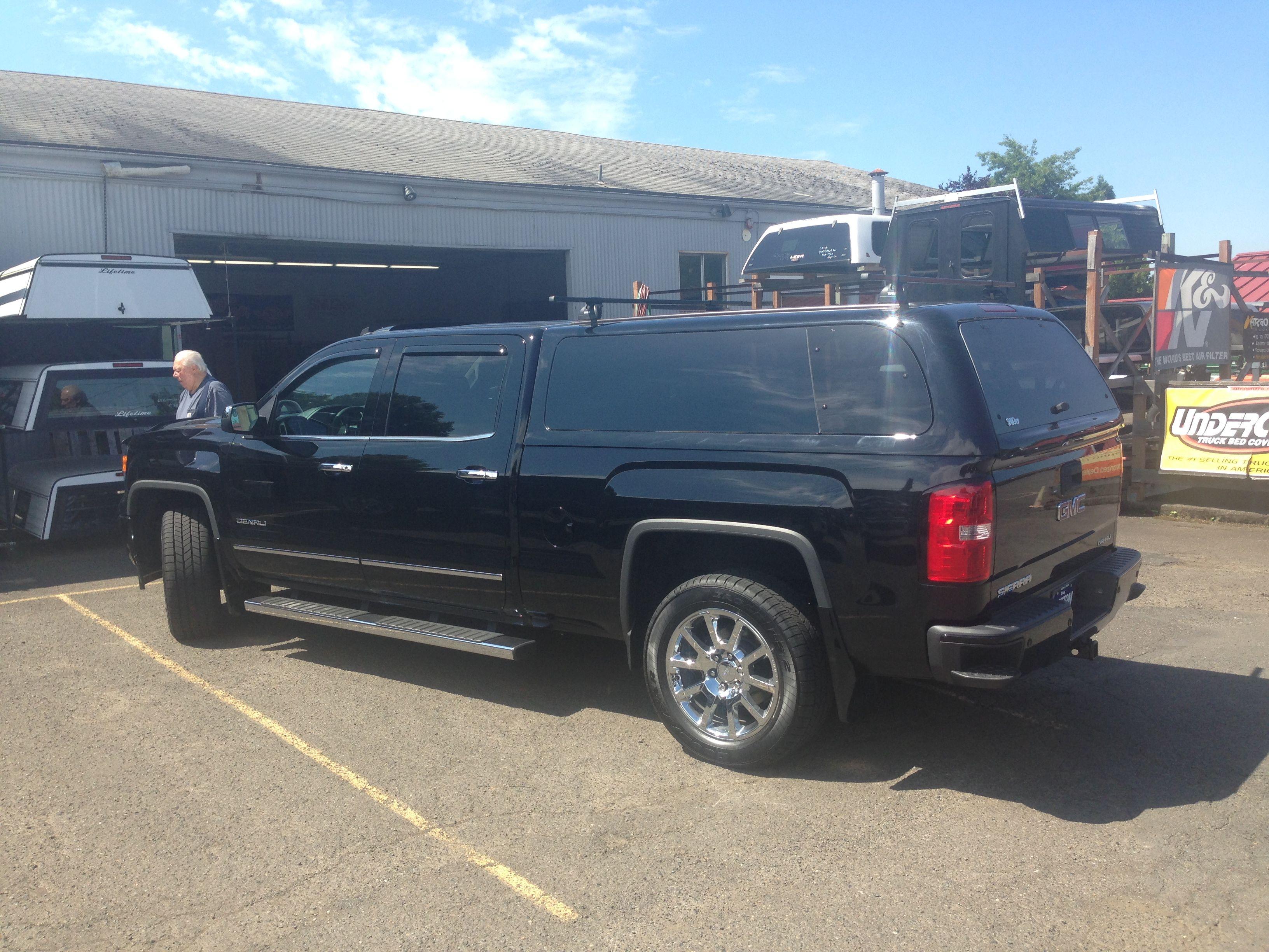 Chevrolet Denali SnugTop Super Sport equipped with Thule racks
