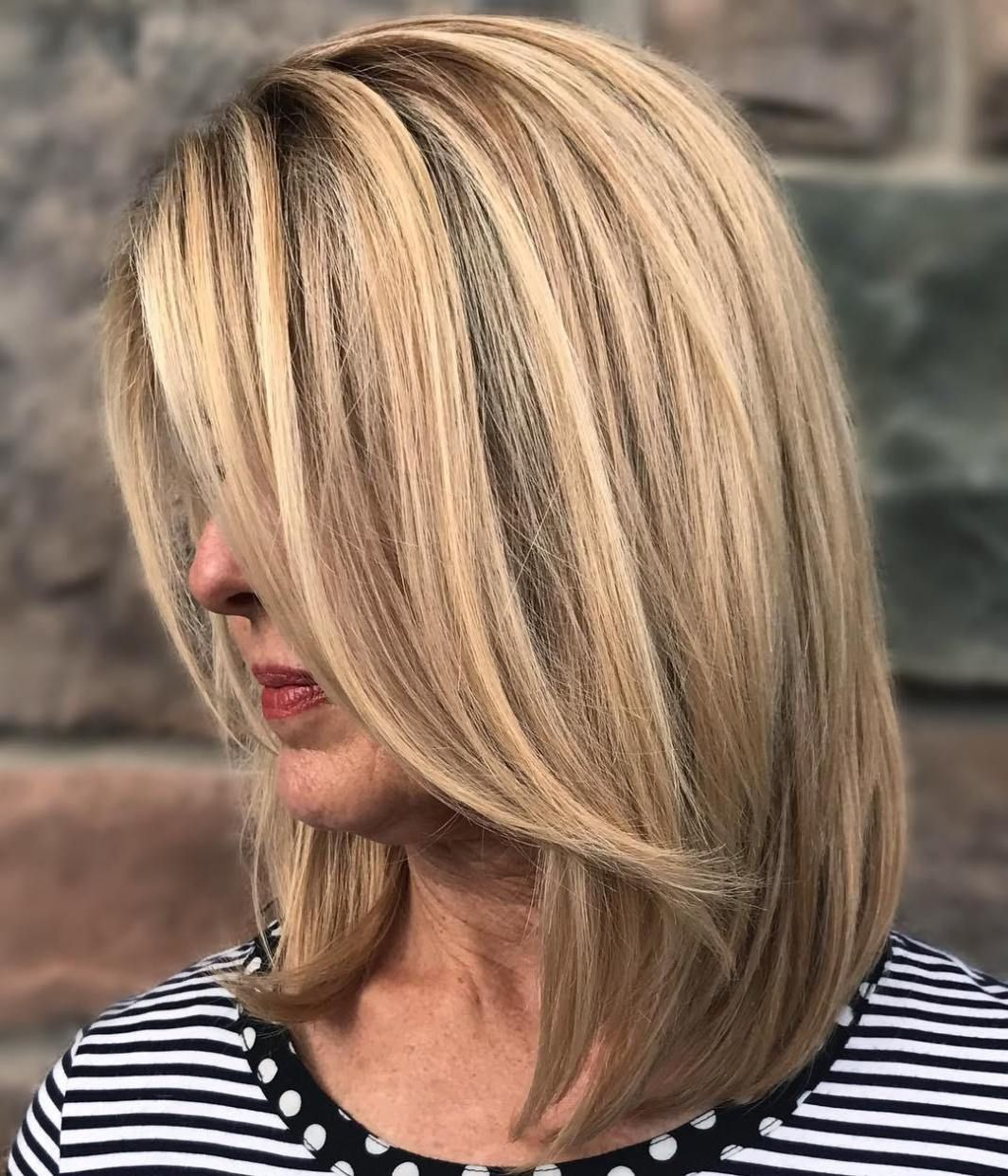 most prominent hairstyles for women over long blonde bobs