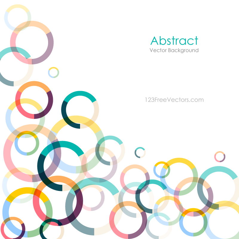 Colorful circle vector background free graphics backgrounds art also photoshop pinterest rh