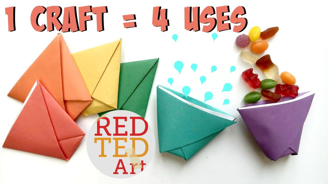 Origami paper cup ball game simple paper crafts simple cup paper toy super simple paper craft learn how to make this simple origami jeuxipadfo Images