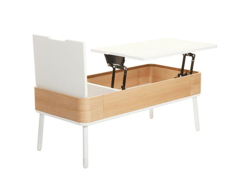 Alexander-Pearl-Crypto-2-White-Coffee-Table - Design Milk | Things ...