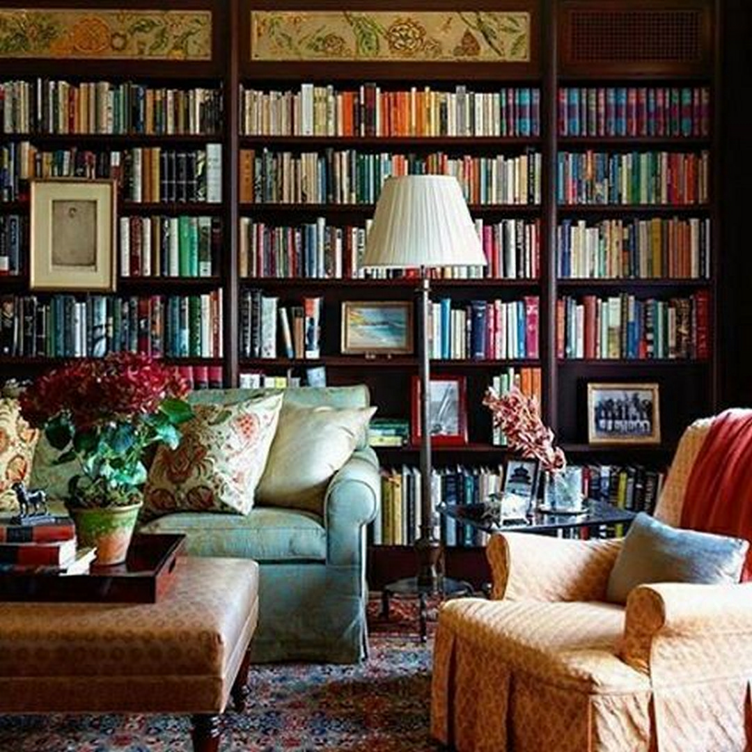 No Place Like Home: 5 Surprising Reasons to Build Your Dream Home in 2020 | Cozy  home library, Home library design, Home libraries