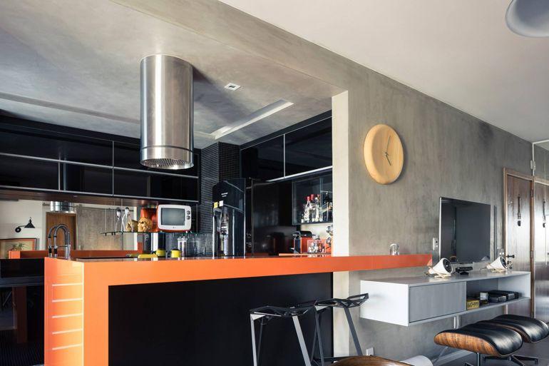 Concreto aparente, gosta? #decoração #designdeinteriores #kitchens #concretoaparente