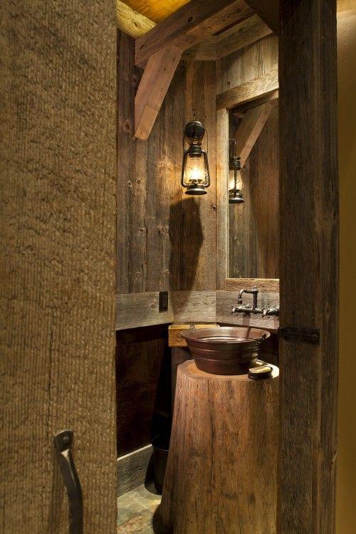 so adorable!! Garage bathroom or man cave?