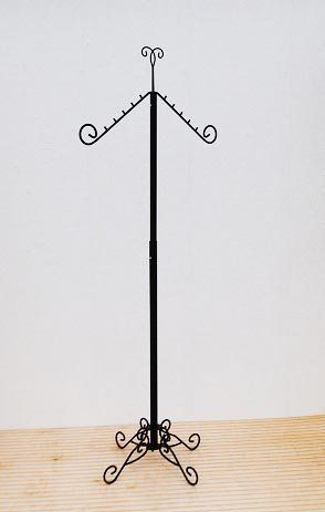 Adjustable Slant Arm Clothing / Garment Rack / Costumer by Classic Store Fixtures, http://www.amazon.com/dp/B00456EXC6/ref=cm_sw_r_pi_dp_SAMxrb10CSWHT