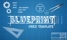 Present your idea or project with this blueprint themed prezi present your idea or project with this blueprint themed prezi template cogs a malvernweather Images