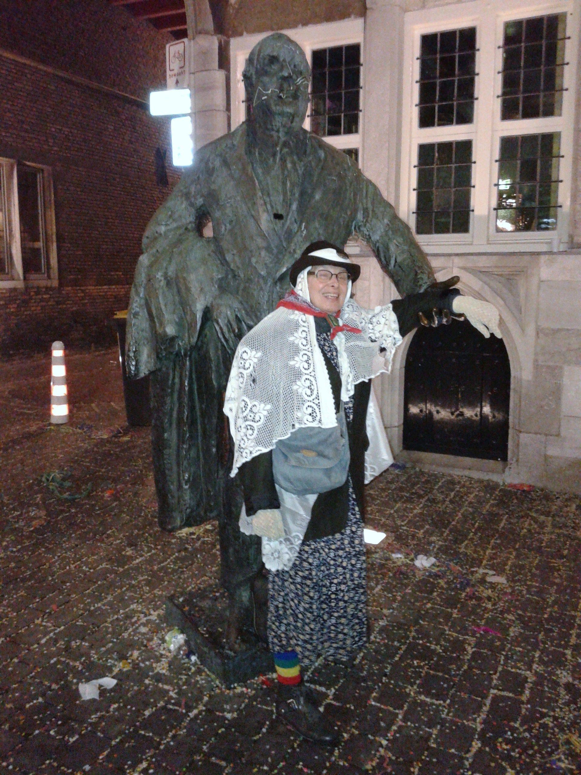 Met Anton van Duinkerken aan het dweilen. 14-02-2015