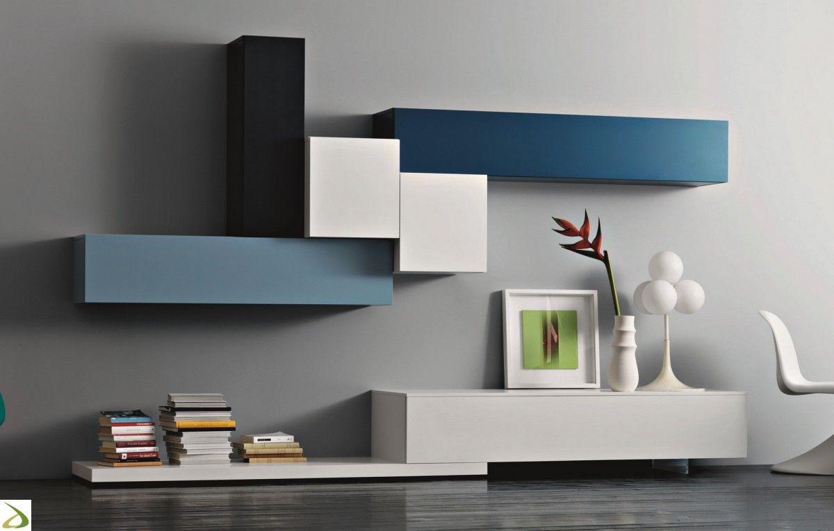 Scaffali soggiorno ~ Risultati immagini per parete soggiorno moderna mensole