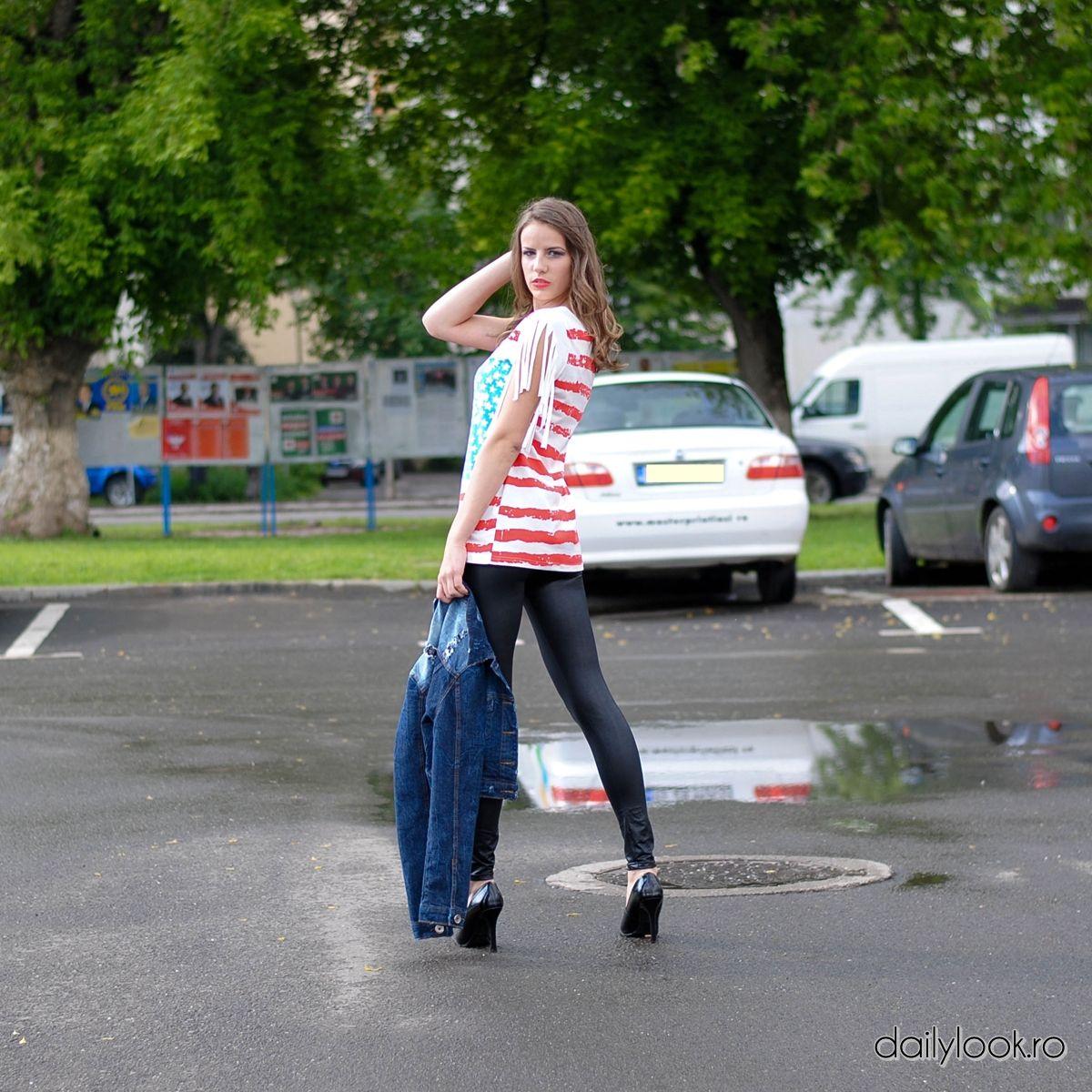 Tricou Steag SUA   Pret Produs: 62 RON/ pret redus: 52 ron  http://www.dailylook.ro/produs.php?id=1139
