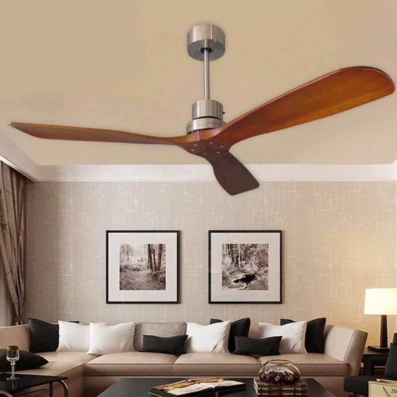 Remote Controlled Wooden Ceiling Fans With Without Lights The Effective Pictures We Offer You About In 2020 Wooden Ceiling Fans Living Room Ceiling Fan Ceiling Fan