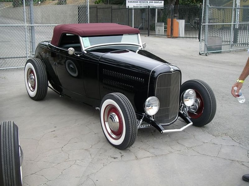 ford 32 highboy hot rod hot rod pickup hot rods. Black Bedroom Furniture Sets. Home Design Ideas