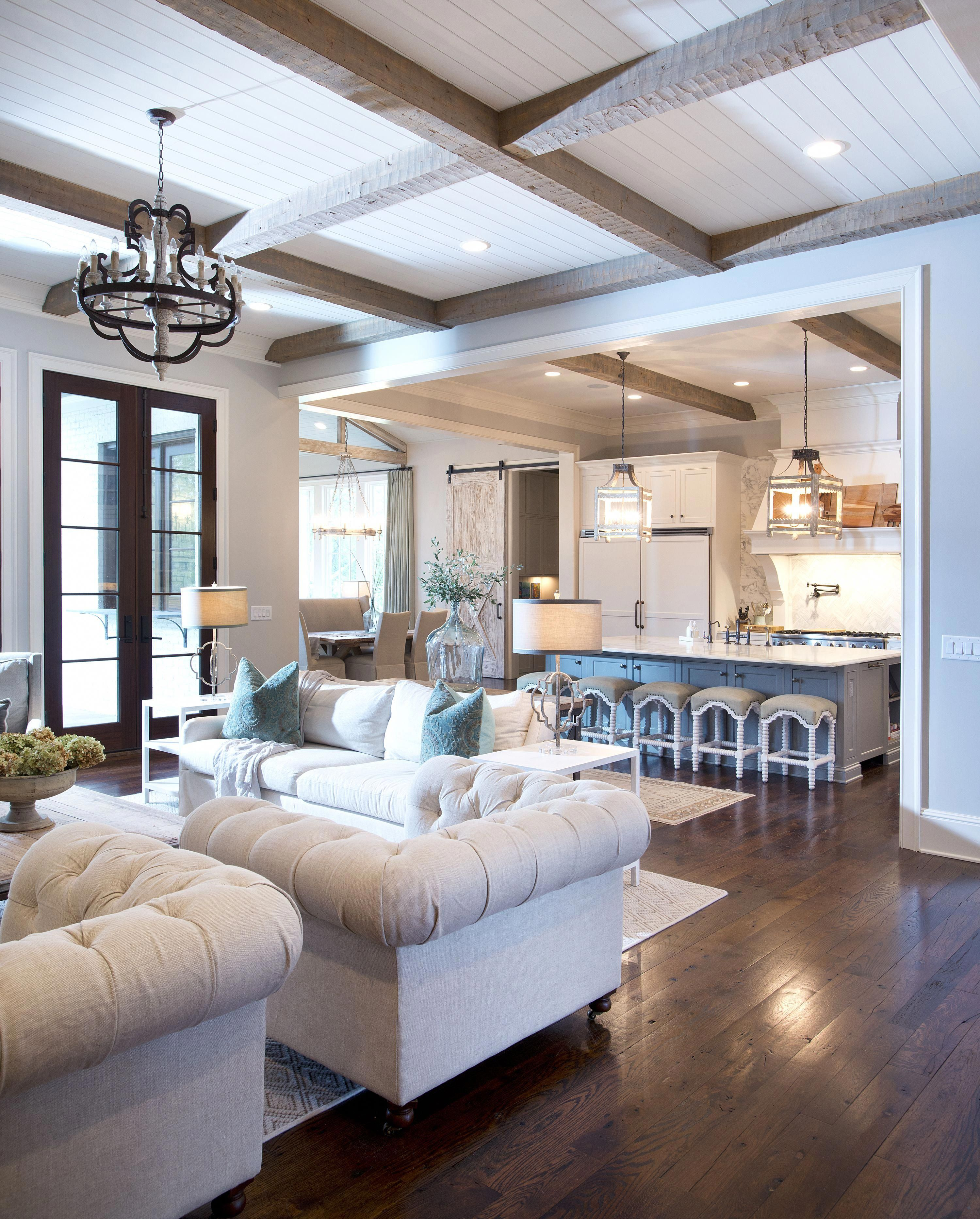 homeinteriordecorationbeams | living room design inspiration